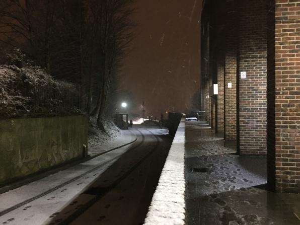 sudden snow