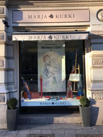 International women's day courtesy of Marja Kurki in Helsinki