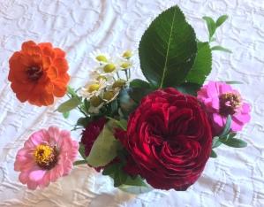 Tisch Blumen Schloss Kammer