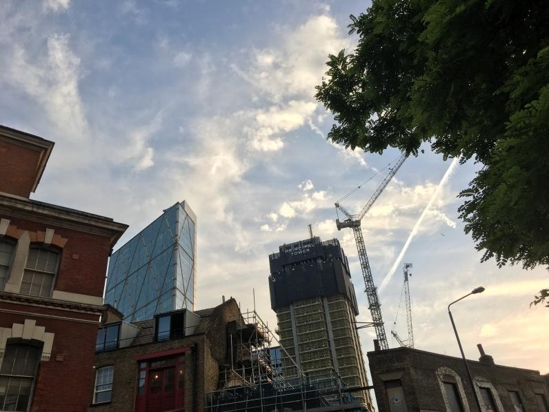 London sky near me