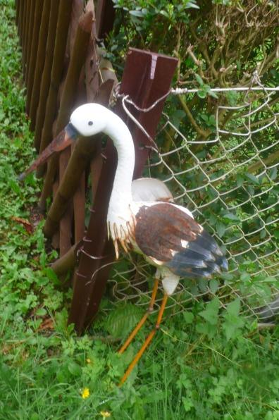 rostiger Storch